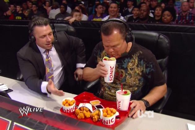 Why WWE Using Product Placement Is Here to Stay