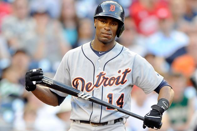 Jim Leyland: Austin Jackson 'Sore' After Testing Injured Hamstring