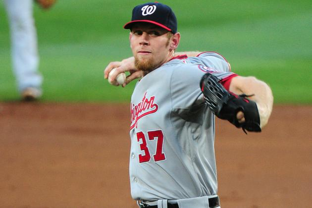 Strasburg Diagnosed with Lat Strain