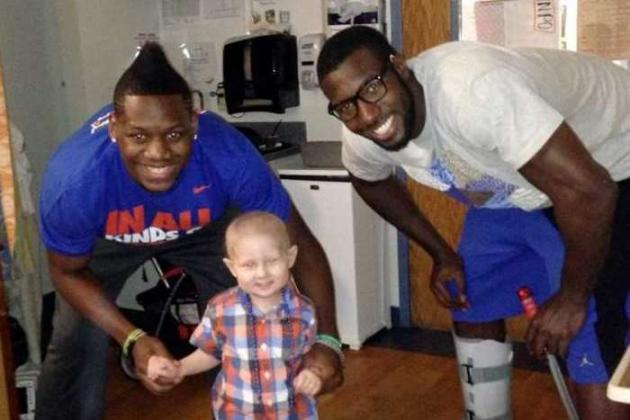 Patric Young, Will Yeguete Form Special Friendship with 3-Year-Old