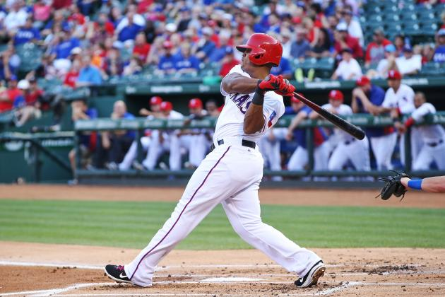 Adrian Beltre and Elvis Andrus out of Lineup