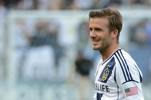 David Beckham Begins MLS Franchise Search with Trip to Home of Miami Dolphins