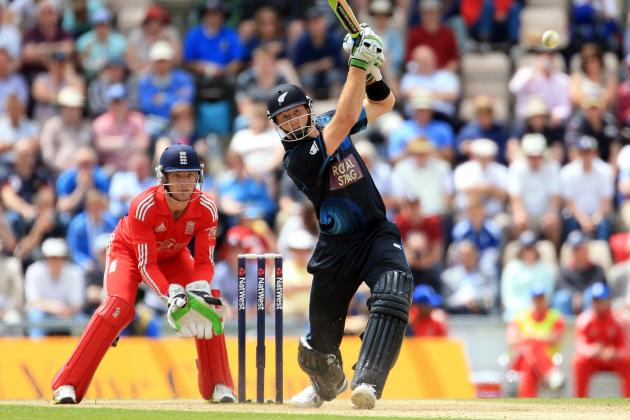 England Lose Second ODI Against New Zealand at Ageas Bowl