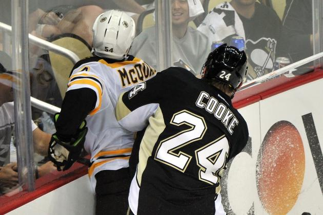 Matt Cooke Doesn't Think He Should Have Been Tossed for Hit