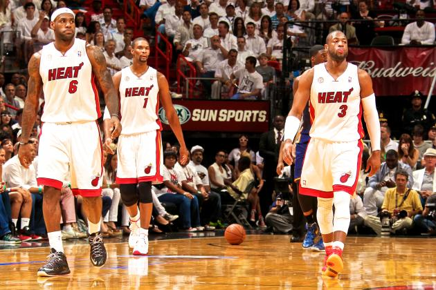 Dwyane Wade, Chris Bosh Proving Even LeBron James Can't Win Alone