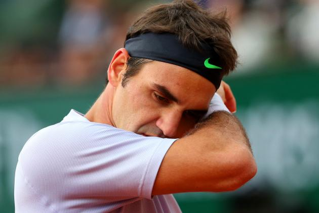 Roger Federer's Run Toward 2nd French Open Title Will End in Quarterfinals