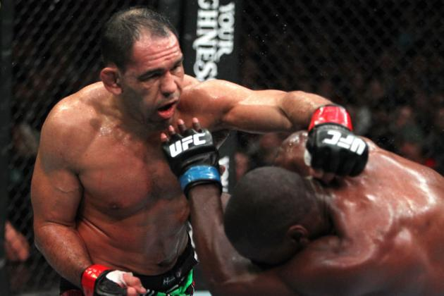 UFC 161: Antonio Nogueira Injured, Fight vs. Shogun Rua Officially Canceled