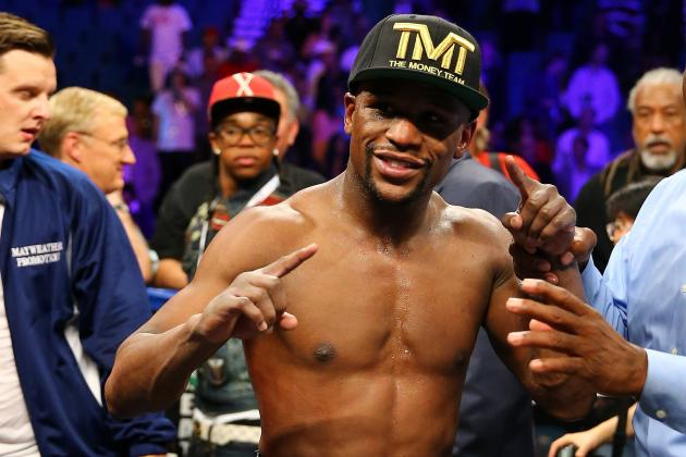 Floyd Mayweather's Match vs. Canelo Alvarez Will Define Career