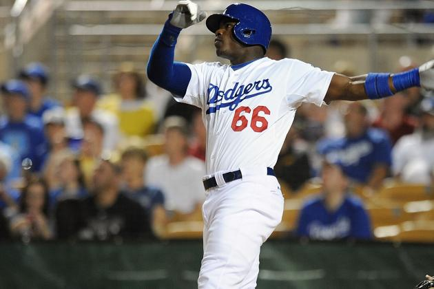 Dodgers Call Up Top Prospect Yasiel Puig