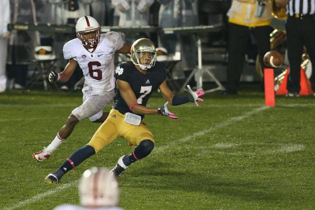 Notre Dame Football: Can TJ Jones Turn into a Legitimate Threat in 2013?