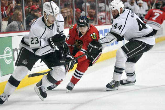 ESPN Gamecast: Kings vs. Blackhawks