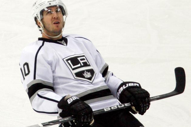 Mike Richards out with an Upper-Body Injury