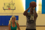 Watch: D-12 Loses Free-Throw Contest to Housewife