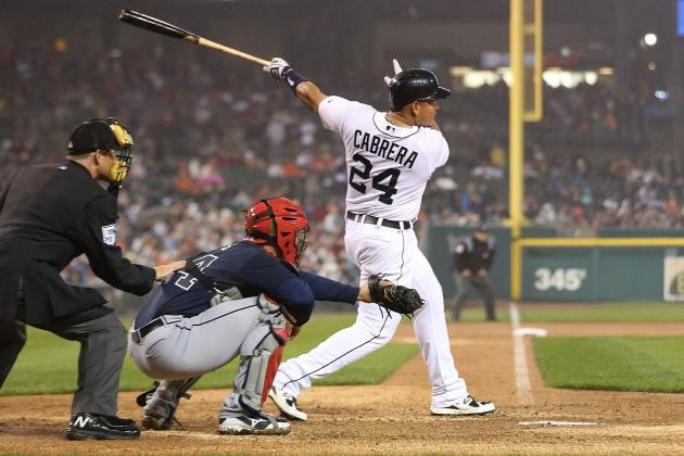 Miguel Cabrera Dominates Month of May, on Pace to Surpass Triple Crown Season