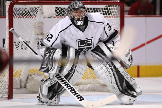 Kings vs. Blackhawks: Is Jonathan Quick's Postseason Magic Gone?