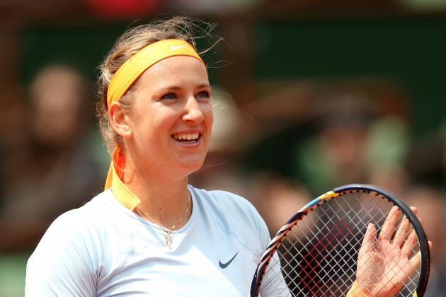 Victoria Azarenka Defeats Francesca Schiavone to Advance at 2013 French Open