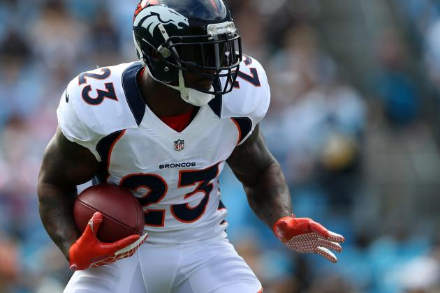 With Willis McGahee Still out of Broncos Camp, Other RBs Get Chance