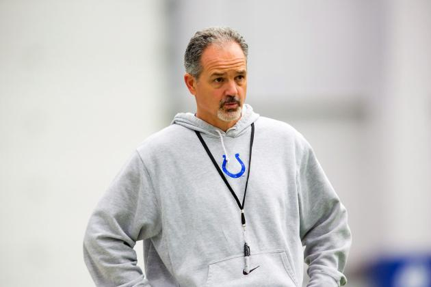Chuck Pagano Brings New Vibe to Colts After Fighting Leukemia