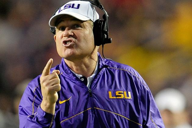 Les Miles, Cam Cameron Escort Sons to Elite 11 QB Camp at OSU