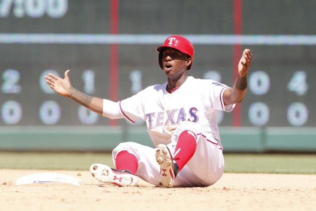 Grading Jurickson Profar's Early Returns for the Texas Rangers