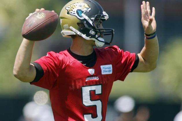 Matt Scott Not Ready to Compete for Jaguars' Quarterback Job