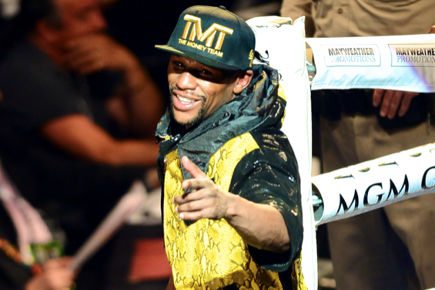 Floyd Mayweather Allegedly Placed a Cool $5.9 Million on Miami Heat in Game 7