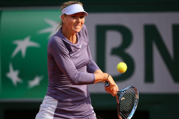 Maria Sharapova Defeats Sloane Stephens to Advance at 2013 French Open