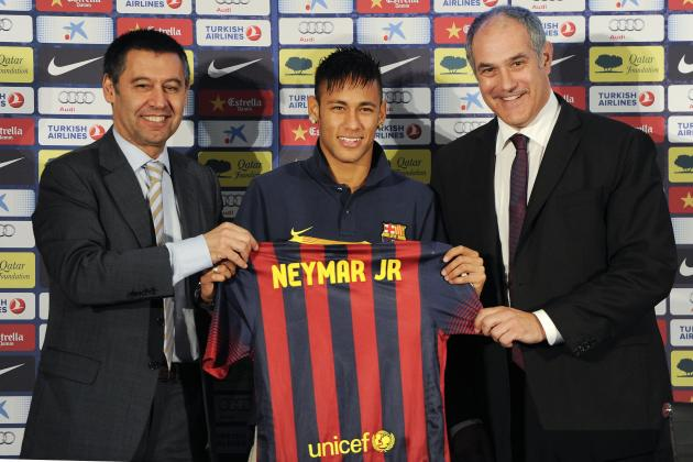 Neymar's Transfer Fee from Barcelona to Santos Announced