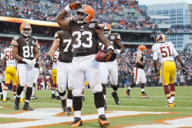 Cleveland Browns: Trent Richardson's Fantasy Football Outlook for 2013