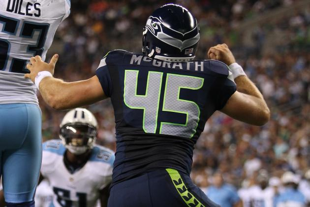 Seahawks TE Sean McGrath Has Shot at New Role in His Own Dream