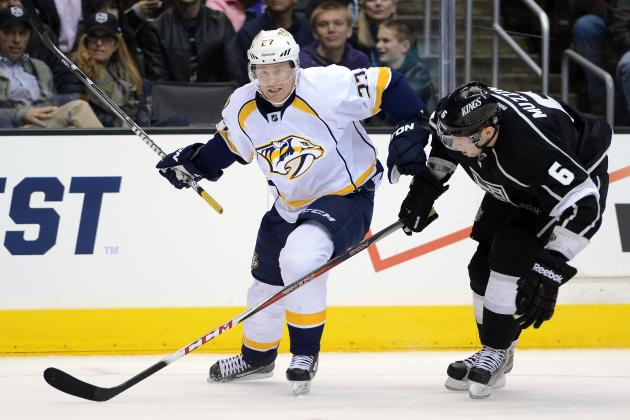 Predators' Wilson on the Mend from Shoulder Surgery