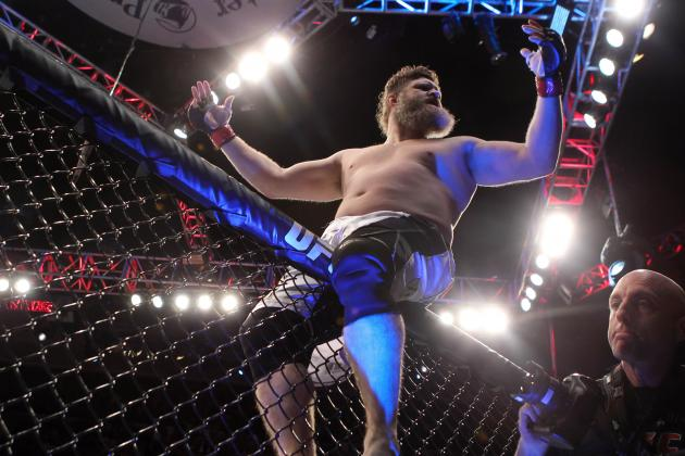 Roy Nelson Fighting Uphill Battle for Recognition as One of the Best in the UFC