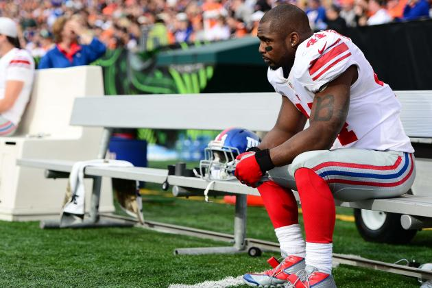 Why Is There No Interest in Free-Agent RB Ahmad Bradshaw?