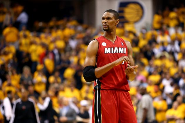 Heat vs Pacers Game 7: Chris Bosh Needs to Prove His Worth in Deciding Clash