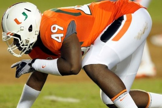 Miami DE Dyron Dye Files Incident Report Against NCAA Investigator