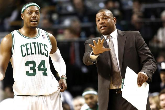 Is Doc Rivers Leveraging Celtics to Keep Pierce, Garnett While Delaying Return