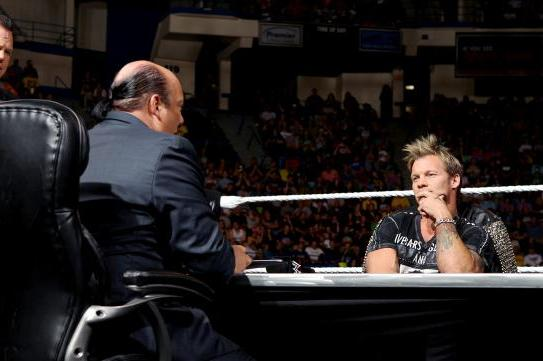 Twitter Reaction to Awkward Chris Jericho and Paul Heyman Segment on WWE Raw