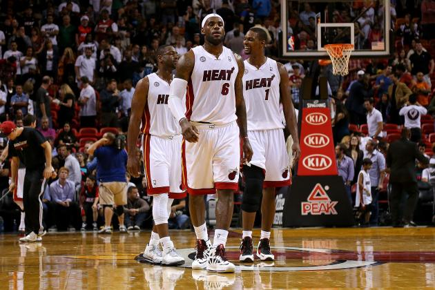 LeBron James Says He Stayed on Dwyane Wade and Chris Bosh Through Struggles