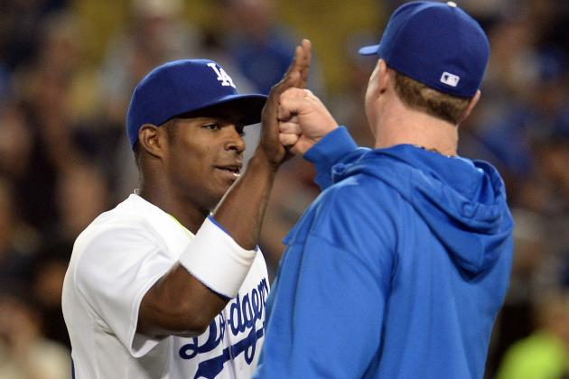 Report Card Grades for Yasiel Puig's Los Angeles Dodgers Debut