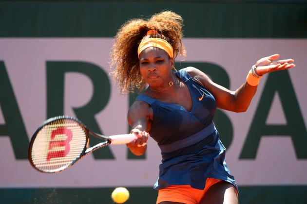 2013 French Open Quarters: Serena Williams Tested by Svetlana Kuznetsova