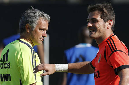 Casillas Wishes Mourinho the Best