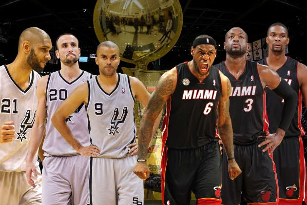 San Antonio Spurs vs. Miami Heat: 2013 NBA Finals Preview and Predictions