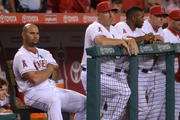 Trout Believes Hamilton, Pujols Will Find Their Groove