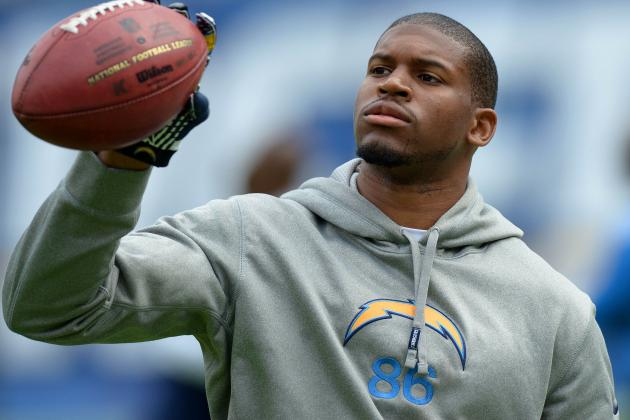 WR Brown Rotates with Chargers Starters