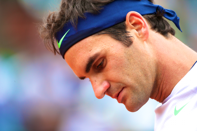 Roger Federer Upset by Jo-Wilfried Tsonga at 2013 French Open