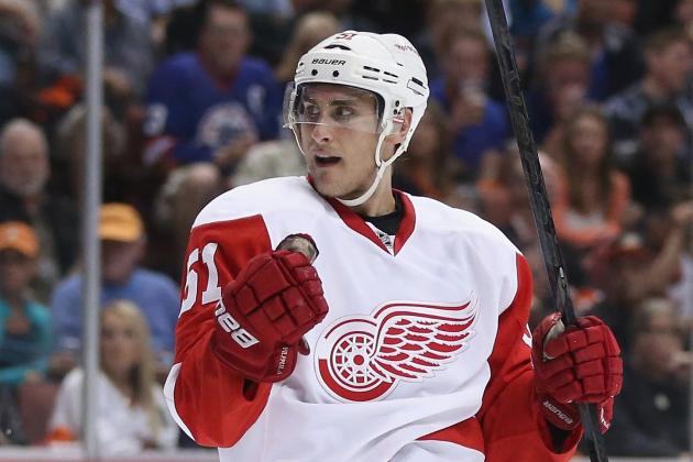 Valtteri Filppula Taking Wait-and-See Approach to Future with Detroit Red Wings