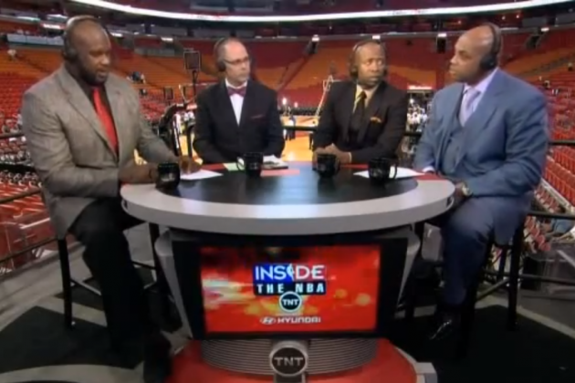 Chuck Trolls Shaq with 'Kazaam' Joke