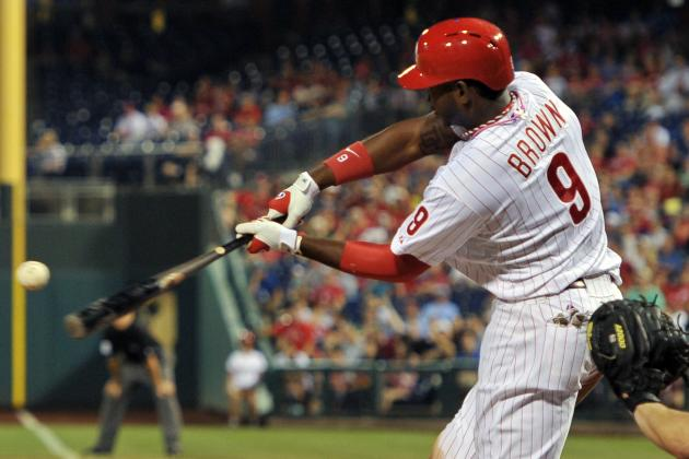 Phillies Outfielder Domonic Brown Named NL Player of the Month for May
