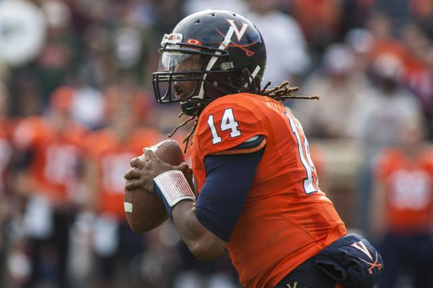 Sims' Departure Doesn't Change U.Va's Problems at QB