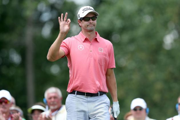 US Open Golf 2013: Projected Finishes for Adam Scott, Webb Simpson and More